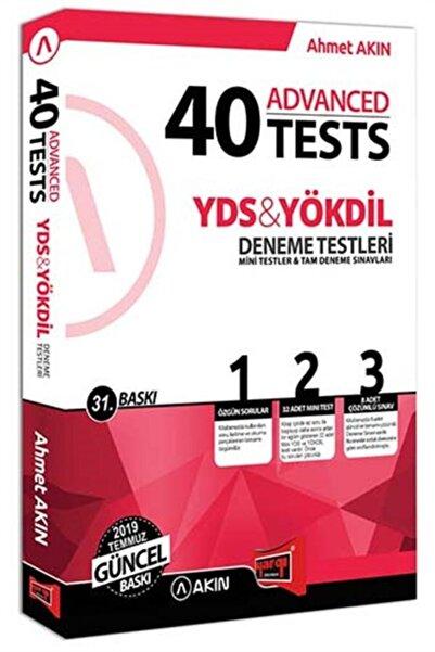 Akın Dil Eğitimi Yargı Yayınları Yds Yökdil 40 Advanced Tests Deneme