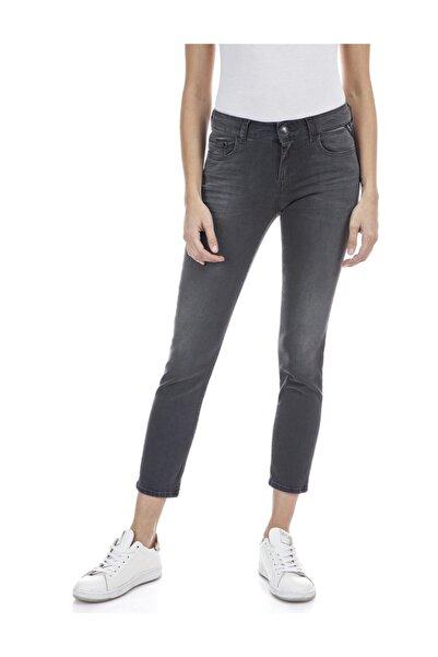 Replay Kadın Koyu Gri Power Streç Denim Pantolon