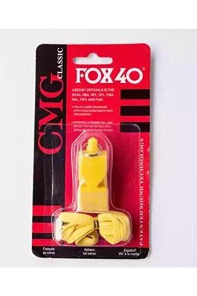 FOX 40 Sarı Classic Düdük, Ağızlık Ve Boyun Ipi Hediyeli, Kutusunda