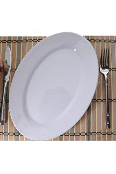 Evren 6'lı Kırılmaz Termo Malemin Kayık Salata Tabağı 10*30 cm