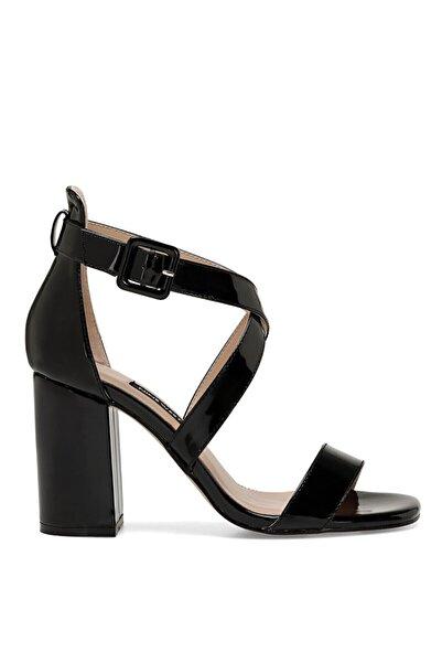 Nine West Laura Siyah Kadın Topuklu Ayakkabı
