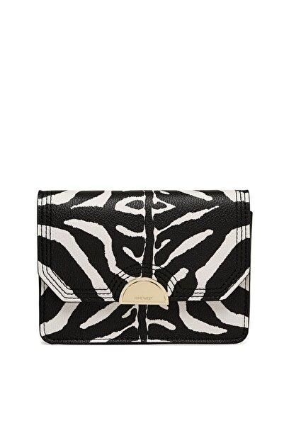 Nine West Hattıe Ngz111980 Zebra Kadın Bel Çantası