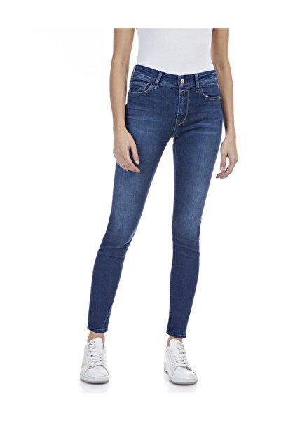 Replay Kadın Koyu Mavi Power Streç Denim Pantolon