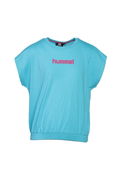HUMMEL HMLSOLITE Turkuaz Kız Çocuk T-Shirt 101085865