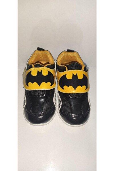 Nikko Erkek Çocuk Siyah Süper Kahraman Baskılı Yürüyüş Ayakkabısı