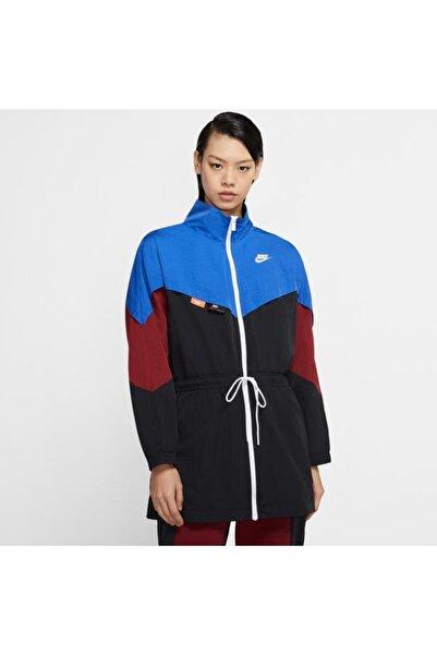 Nike Nıke W Nsw Icn Clsh Track Jkt Wvn Kadın Ceket Cj2046-480