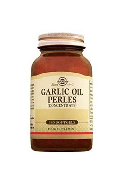 Solgar Garlic Oil Perles 100 Softjel 033984012202