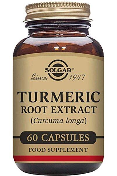 Solgar Turmeric Root Extract 60 Kapsül