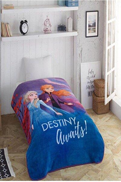 Özdilek Mavi Tek Kişilik Frozen Destiny Battaniye Bc102511