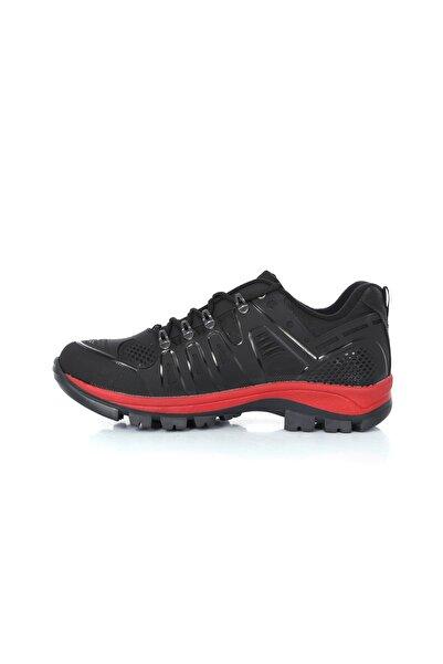 Rock & Roll Siyaha Kırmızı Tpu Korumalı Suya Dayanıklı Erkek Spor Ayakkabı
