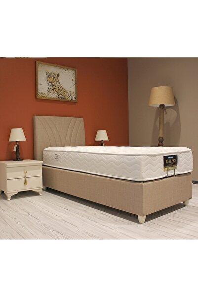 Bellona Tek Kişilik Baza Başlık Yatak Ultra Uyku Seti  90x190