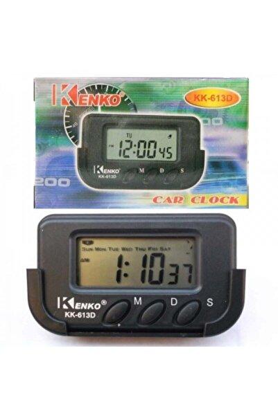 Kralphone Kk-613d Dijital Küçük Masa - Araba Saati-alarm-kronometre Kenko