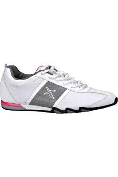 Kinetix Fonda Beyaz Gri Günlük Spor Ayakkabı