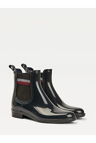 Tommy Hilfiger Corporate Elastıc Yağmur Çizmesi