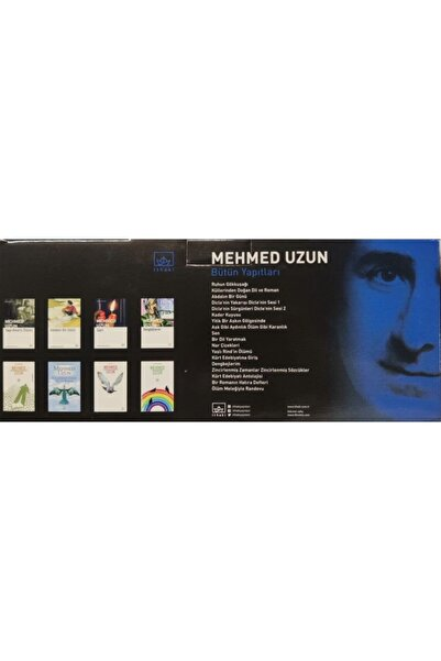 İthaki Yayınları Mehmed Uzun Seti 18 Kitap Takım