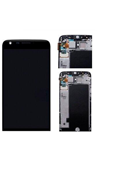 LG G5 Lcd H850 Dokunmatik Çıtalı Çerçeveli Full Ekran Siyah