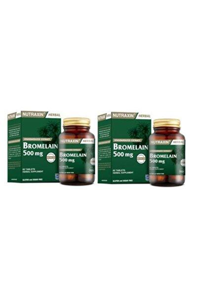 Nutraxin Bromelain 60 Kapsül X2