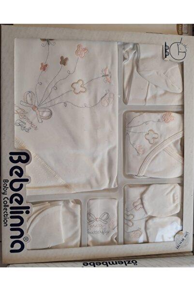 renkli çiçekler Bebek Takımı Hastane Çıkışı 10 Parça Set