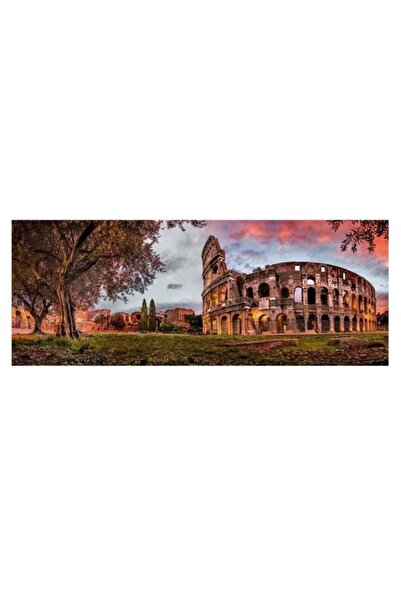 RAVENSBURGER 1000 Parçalı Panoramik Puzzle Kolezyum'da Gün Batımı-150779