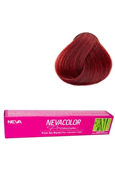 Neva Color Tüp Krem Saç Boyası 66.46 Volkan Kızılı