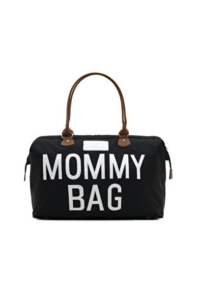 CHQEL Kadın Siyah Mommy Bag Anne Bebek Bakım Çantası