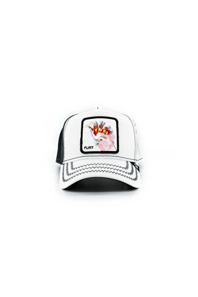 Goorin Bros Unisex Big Flirt Beyaz Standart Şapka 101-0686