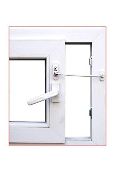 Pi İthalat Anahtarlı Halatlı Pvc Kapı Pencere Emniyet Kilidi