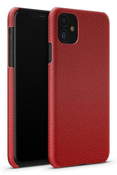 Melefoni Apple Iphone 11 Uyumlu Kılıf Deri Valenti