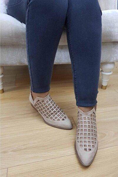 TREND Kadın Bej Günlük Ayakkabı