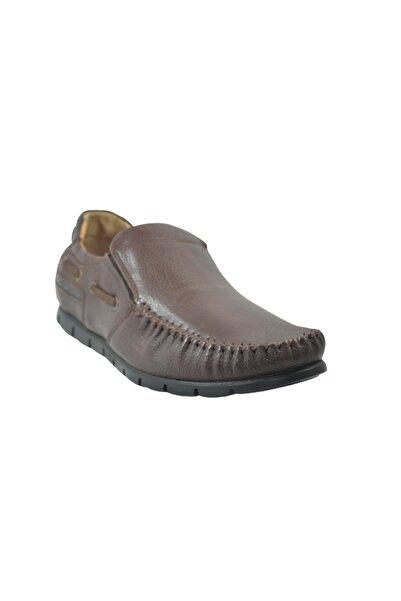 PUNTO 573029 Anatomik Taban Erkek Ayakkabı - - Kahverengi - 43