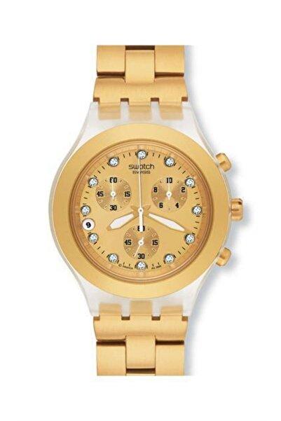 Swatch Kadın Sarı Kol Saati Svck4032g