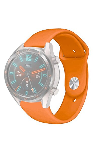 Marcador 46mm Huawei Watch Gt2 / Gt2e Samsung Gear S3 Classic / Frontier Silikon Düğme Kordon