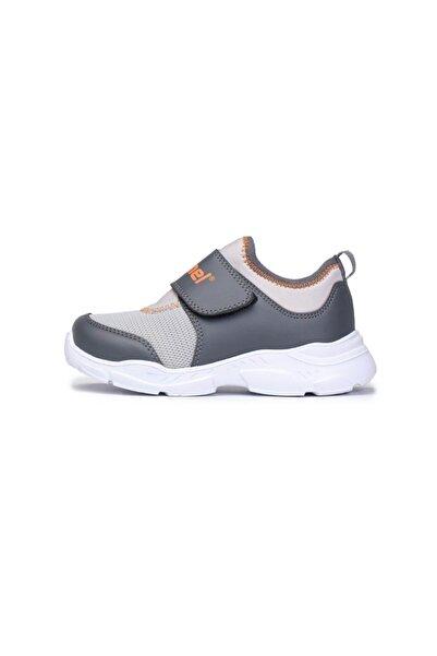 HUMMEL Unisex Çocuk Gri Sımba Koşu Ayakkabısı
