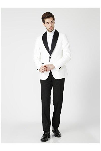 Fabrika Erkek Ekru Takım Elbise