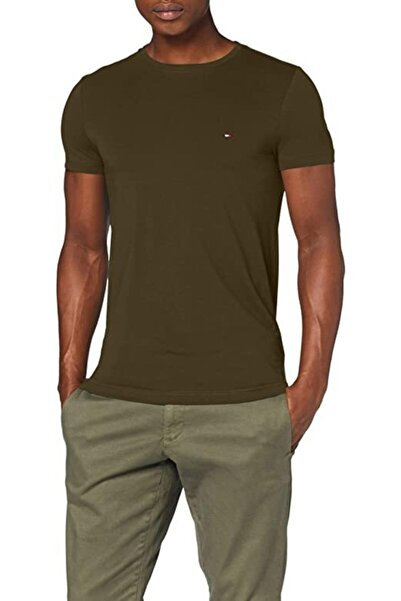 Tommy Hilfiger Erkek Basic Pulover T-shirt