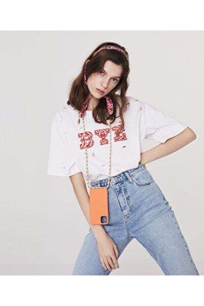 Twist Kesik Detaylı T-shirt