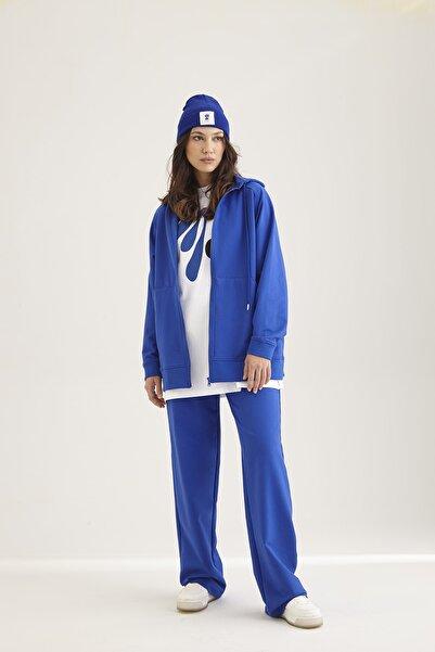 Kuaybe Gider Unisex Mavi Ceket