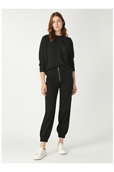 Fabrika Kadın Siyah Pantolon