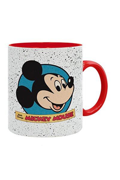 Kumbara Hediyelik Mickey Mouse Baskılı Seramik Kupa