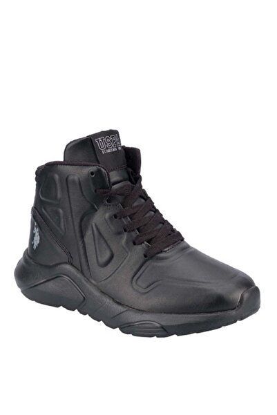 U.S POLO ROBINSON Siyah Erkek Çocuk Sneaker Ayakkabı 100551865