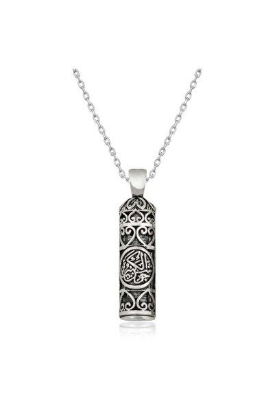 Gumush Kadın Gümüş Cevşen-ül Kebir Kolye