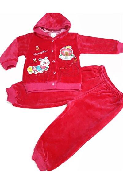 Sönmez Baby Kadife Kapşonlu Ikili Bebe Takım