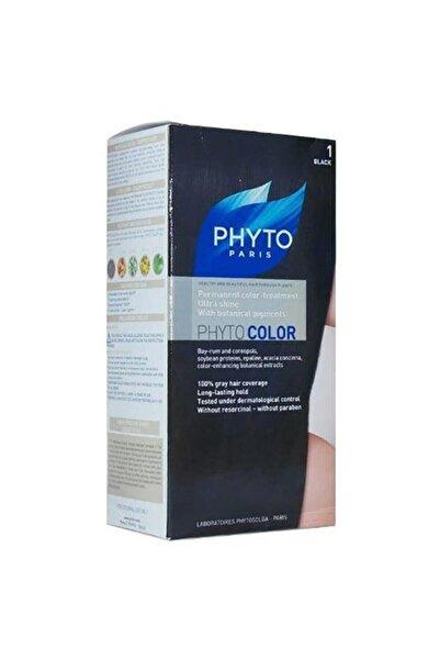 Phyto Siyah Color Saç Boyası 1