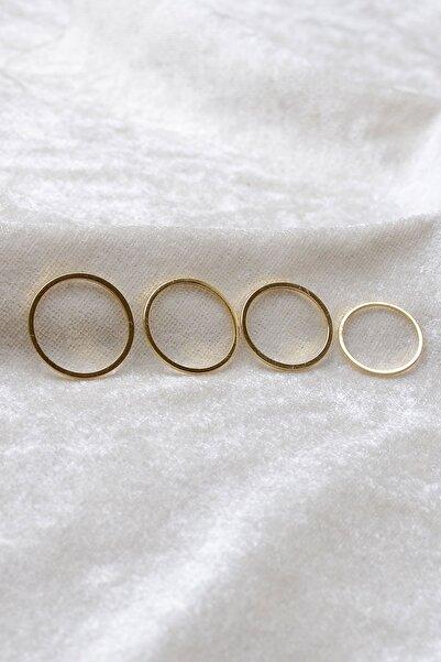 Michael West 4 Lü Set Eklem Yüzüğü