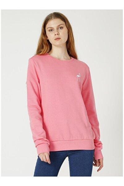 NATIONAL GEOGRAPHIC Kadın Pembe Sweatshirt