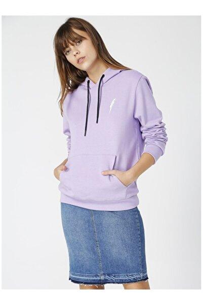 NATIONAL GEOGRAPHIC Kadın Mor Sweatshirt