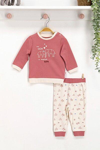 U.S. Polo Assn. Kids U.s. Polo Assn Lisanslı Bebek Uzun Kol 2'li Takım Usb008