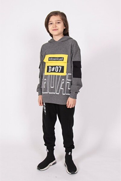 Dmb Erkek Çocuk Cep Detaylı Sweatshirt