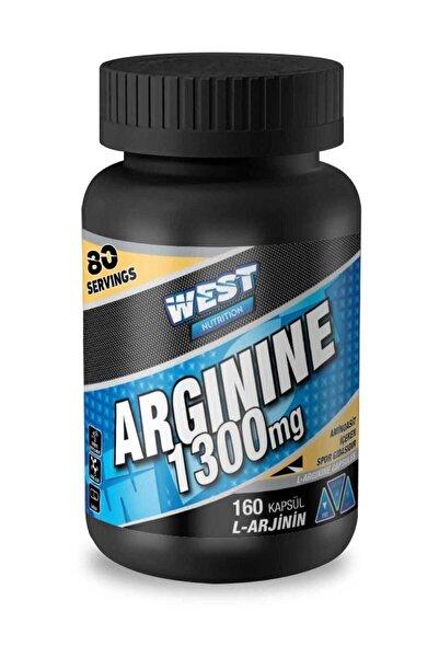 West Nutrition L-Arginine 1300 – 160 Kapsül