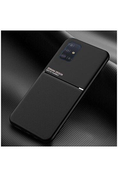 Dara Aksesuar Samsung Galaxy A71 Uyumlu Siyah Silikon Telefon Kılıfı